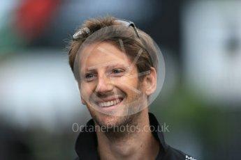 World © Octane Photographic Ltd. Lotus F1 Team E23 Hybrid – Romain Grosjean. Saturday 5th September 2015, F1 Italian GP Paddock, Monza, Italy. Digital Ref: 1409LB1D0358