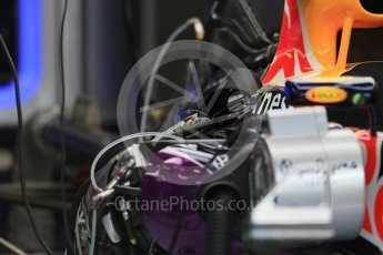 World © Octane Photographic Ltd. Infiniti Red Bull Racing RB11. Thursday 3rd September 2015, F1 Italian GP Paddock, Monza, Italy. Digital Ref: 1400LB1D8136