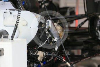 World © Octane Photographic Ltd. Williams Martini Racing FW37 side pod detail. Thursday 3rd September 2015, F1 Italian GP Paddock, Monza, Italy. Digital Ref: 1400LB1D8141