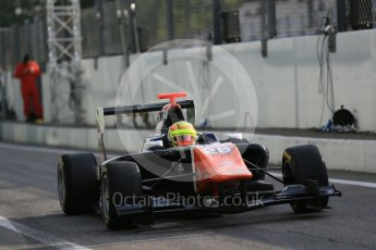 World © Octane Photographic Ltd. Friday 4th September 2015. Trident – Amaury Bonduel. GP3 Practice - Monza, Italy. Digital Ref. : 1410LB1D0193
