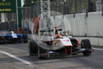 World © Octane Photographic Ltd. Friday 4th September 2015. Campos Racing – Brandon Maisano. GP3 Practice - Monza, Italy. Digital Ref. : 1410LB1D0200