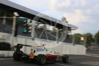 World © Octane Photographic Ltd. Friday 4th September 2015. Campos Racing – Zaid Ashkanani. GP3 Practice - Monza, Italy. Digital Ref. : 1410LB5D8489