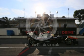 World © Octane Photographic Ltd. Friday 4th September 2015. Trident – Amaury Bonduel. GP3 Practice - Monza, Italy. Digital Ref. : 1410LB5D8497