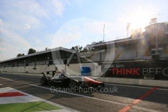World © Octane Photographic Ltd. Friday 4th September 2015. Trident – Artur Janosz. GP3 Practice - Monza, Italy. Digital Ref. : 1410LB5D8509