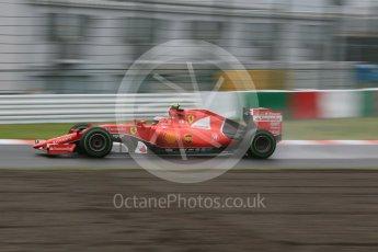 World © Octane Photographic Ltd. Scuderia Ferrari SF15-T– Kimi Raikkonen. Friday 25th September 2015, F1 Japanese Grand Prix, Practice 2, Suzuka. Digital Ref:
