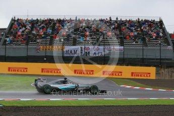 World © Octane Photographic Ltd. Mercedes AMG Petronas F1 W06 Hybrid – Lewis Hamilton. Friday 25th September 2015, F1 Japanese Grand Prix, Practice 2, Suzuka. Digital Ref: