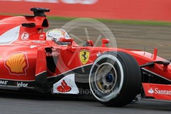World © Octane Photographic Ltd. Scuderia Ferrari SF15-T– Sebastian Vettel. Saturday 26th September 2015, F1 Japanese Grand Prix, Practice 3, Suzuka. Digital Ref: