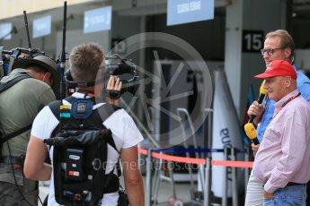 World © Octane Photographic Ltd. Mercedes AMG Petronas – Niki Lauda. Saturday 26th September 2015, F1 Japanese Grand Prix, Practice 3, Suzuka. Digital Ref: