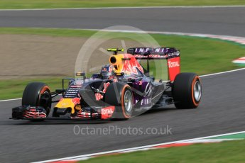 World © Octane Photographic Ltd. Infiniti Red Bull Racing RB11 – Daniil Kvyat. Saturday 26th September 2015, F1 Japanese Grand Prix, Qualifying, Suzuka. Digital Ref: