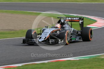World © Octane Photographic Ltd. Sahara Force India VJM08B – Nico Hulkenberg. Saturday 26th September 2015, F1 Japanese Grand Prix, Qualifying, Suzuka. Digital Ref: