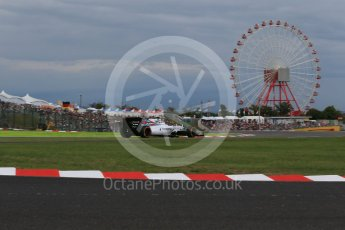 World © Octane Photographic Ltd. Williams Martini Racing FW37 – Valtteri Bottas. Saturday 26th September 2015, F1 Japanese Grand Prix, Qualifying, Suzuka. Digital Ref: