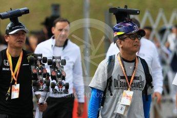 World © Octane Photographic Ltd. Fans in the paddock. Saturday 26th September 2015, F1 Japanese Grand Prix, Paddock, Suzuka. Digital Ref: 1445CB7D6394