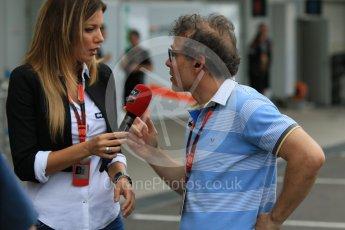 World © Octane Photographic Ltd. Jacques Villeneuve. Sunday 27th September 2015, F1 Japanese Grand Prix, Paddock Suzuka. Digital Ref: 1448CB7D7550