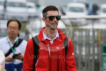 World © Octane Photographic Ltd. Manor Marussia F1 Team MR03B – Alexander Rossi. Sunday 27th September 2015, F1 Japanese Grand Prix, Setup, Suzuka. Digital Ref: 1448CB7D7603