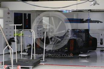 World © Octane Photographic Ltd. Williams Martini Racing FW37 – Felipe Massa. Sunday 27th September 2015, F1 Japanese Grand Prix, Setup, Suzuka. Digital Ref: