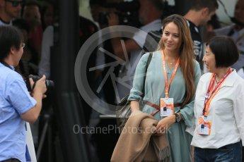 World © Octane Photographic Ltd. McLaren Honda - Jessica Michibata. Sunday 27th September 2015, F1 Japanese Grand Prix, Setup, Suzuka. Digital Ref: 1448LB1D3878