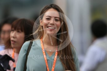World © Octane Photographic Ltd. McLaren Honda - Jessica Michibata. Sunday 27th September 2015, F1 Japanese Grand Prix, Setup, Suzuka. Digital Ref: 1448LB1D3901
