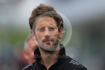 World © Octane Photographic Ltd. Lotus F1 Team E23 Hybrid – Romain Grosjean. Sunday 27th September 2015, F1 Japanese Grand Prix, Setup, Suzuka. Digital Ref: 1448LB1D4025