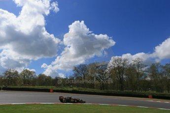 World © Octane Photographic Ltd. Lotus F1 Team E23 Hybrid - Romain Grosjean. Lotus filming day at Brands Hatch. Digital Ref: 1238LB1D5182