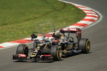 World © Octane Photographic Ltd. Lotus F1 Team E23 Hybrid - Romain Grosjean. Lotus filming day at Brands Hatch. Digital Ref: 1238LW1L4938