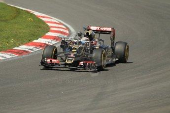 World © Octane Photographic Ltd. Lotus F1 Team E23 Hybrid - Romain Grosjean. Lotus filming day at Brands Hatch. Digital Ref: 1238LW1L4952