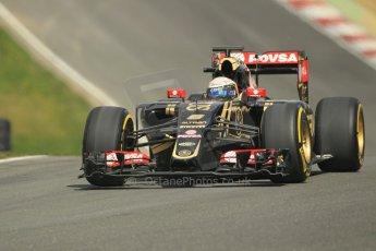 World © Octane Photographic Ltd. Lotus F1 Team E23 Hybrid - Romain Grosjean. Lotus filming day at Brands Hatch. Digital Ref: 1238LW1L5035