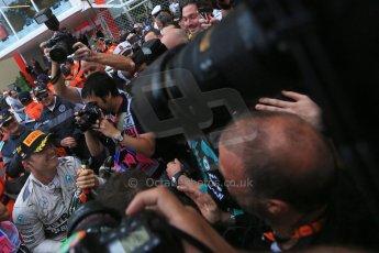 World © Octane Photographic Ltd. Mercedes AMG Petronas F1 W06 Hybrid – Nico Rosberg. Sunday 24th May 2015, F1 Race - Podium, Monte Carlo, Monaco. Digital Ref: 1287LB1D8647