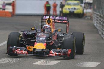 World © Octane Photographic Ltd. Infiniti Red Bull Racing RB11 – Daniel Ricciardo. Thursday 21st May 2015, F1 Practice 2, Monte Carlo, Monaco. Digital Ref: 1274CB7D3637