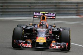 World © Octane Photographic Ltd. Infiniti Red Bull Racing RB11 – Daniil Kvyat. Thursday 21st May 2015, F1 Practice 2, Monte Carlo, Monaco. Digital Ref: 1274LB1D4016