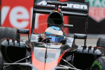 World © Octane Photographic Ltd. McLaren Honda MP4/30 – Fernando Alonso. Thursday 21st May 2015, F1 Practice 2, Monte Carlo, Monaco. Digital Ref: 1274LB1D4152
