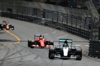 World © Octane Photographic Ltd. Mercedes AMG Petronas F1 W06 Hybrid – Nico Rosberg. Sunday 24th May 2015, F1 Race, Monte Carlo, Monaco. Digital Ref: 1286LB1D8159