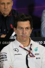 World © Octane Photographic Ltd. Mercedes AMG Petronas Executive Director – Toto Wolff. Thursday 21st May 2015, FIA Team Personnel Press Conference, Monte Carlo, Monaco. Digital Ref: 1276LB1D4293