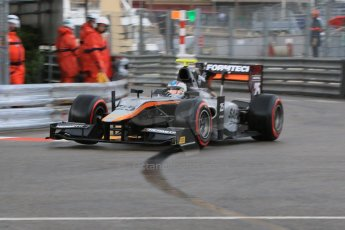 World © Octane Photographic Ltd. Thursday 21st May 2015. Hilmer Motorsport – Johnny Cecotto. GP2 Qualifying – Monaco, Monte-Carlo. Digital Ref. : 1275CB7D3841