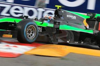 World © Octane Photographic Ltd. Thursday 21st May 2015. Status Grand Prix – Richie Stanaway. GP2 Qualifying – Monaco, Monte-Carlo. Digital Ref. : 1275CB7D3883