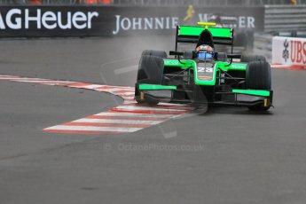 World © Octane Photographic Ltd. Thursday 21st May 2015. Status Grand Prix – Richie Stanaway. GP2 Qualifying – Monaco, Monte-Carlo. Digital Ref. : 1275CB7D3989
