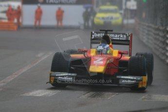 World © Octane Photographic Ltd. Thursday 21st May 2015. Racing Engineering – Jordan King. GP2 Qualifying – Monaco, Monte-Carlo. Digital Ref. : 1275CB7D4076