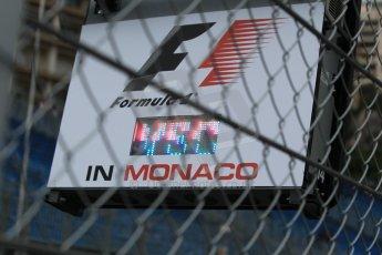 World © Octane Photographic Ltd. Virtual Safety Car Board (VSC). Thursday 21st May 2015, F1 Practice 1, Monte Carlo, Monaco. Digital Ref: 1272CB1L9588