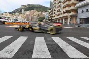 World © Octane Photographic Ltd. Lotus F1 Team E23 Hybrid – Pastor Maldonado. Thursday 21st May 2015, F1 Practice 1, Monte Carlo, Monaco. Digital Ref: 1272CB1L9766