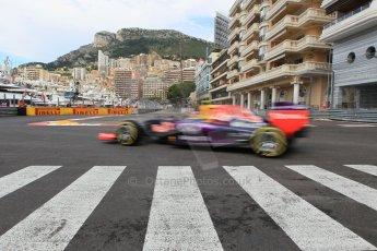 World © Octane Photographic Ltd. Infiniti Red Bull Racing RB11 – Daniil Kvyat. Thursday 21st May 2015, F1 Practice 1, Monte Carlo, Monaco. Digital Ref: 1272CB1L9778