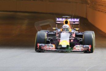 World © Octane Photographic Ltd. Infiniti Red Bull Racing RB11 – Daniel Ricciardo. Thursday 21st May 2015, F1 Practice 1, Monte Carlo, Monaco. Digital Ref: 1272CB7D2823
