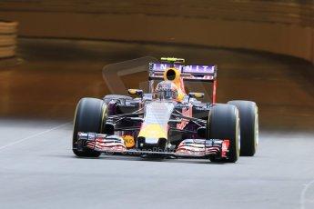 World © Octane Photographic Ltd. Infiniti Red Bull Racing RB11 – Daniil Kvyat. Thursday 21st May 2015, F1 Practice 1, Monte Carlo, Monaco. Digital Ref: 1272CB7D2845