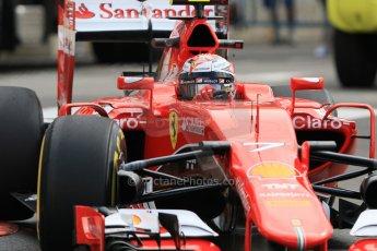 World © Octane Photographic Ltd. Scuderia Ferrari SF15-T– Kimi Raikkonen. Thursday 21st May 2015, F1 Practice 1, Monte Carlo, Monaco. Digital Ref: 1272CB7D3012