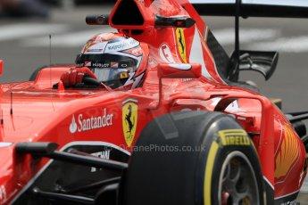 World © Octane Photographic Ltd. Scuderia Ferrari SF15-T– Kimi Raikkonen. Thursday 21st May 2015, F1 Practice 1, Monte Carlo, Monaco. Digital Ref: 1272CB7D3017