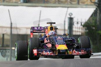 World © Octane Photographic Ltd. Infiniti Red Bull Racing RB11 – Daniel Ricciardo. Thursday 21st May 2015, F1 Practice 1, Monte Carlo, Monaco. Digital Ref: 1272LB1D3279
