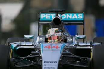 World © Octane Photographic Ltd. Mercedes AMG Petronas F1 W06 Hybrid – Lewis Hamilton. Thursday 21st May 2015, F1 Practice 1, Monte Carlo, Monaco. Digital Ref: 1272LB1D3464