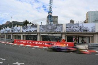 World © Octane Photographic Ltd. Infiniti Red Bull Racing RB11 – Daniil Kvyat. Thursday 21st May 2015, F1 Practice 1, Monte Carlo, Monaco. Digital Ref: 1272LB5D2822
