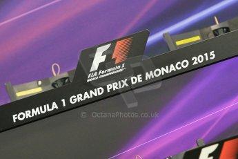 World © Octane Photographic Ltd. Wednesday 20th May 2015, FIA Drivers' Press Conference, Monte Carlo, Monaco. Digital Ref: 1271CB1L9254