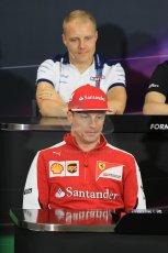 World © Octane Photographic Ltd. Scuderia Ferrari – Kimi Raikkonen. Wednesday 20th May 2015, FIA Drivers' Press Conference, Monte Carlo, Monaco. Digital Ref: 1271CB1L9435