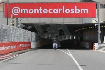 World © Octane Photographic Ltd. Wednesday 20th May 2015, F1 Track walk, Monte Carlo, Monaco. Digital Ref: 1270CB1L9162
