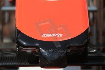 World © Octane Photographic Ltd. Manor Marussia F1 Team MR03. Wednesday 20th May 2015, F1 Pitlane, Monte Carlo, Monaco. Digital Ref:  1270CB1L9207